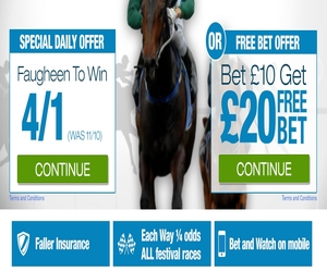 Winner Sports Cheltenham Festival Daily Promotions 04/03/15